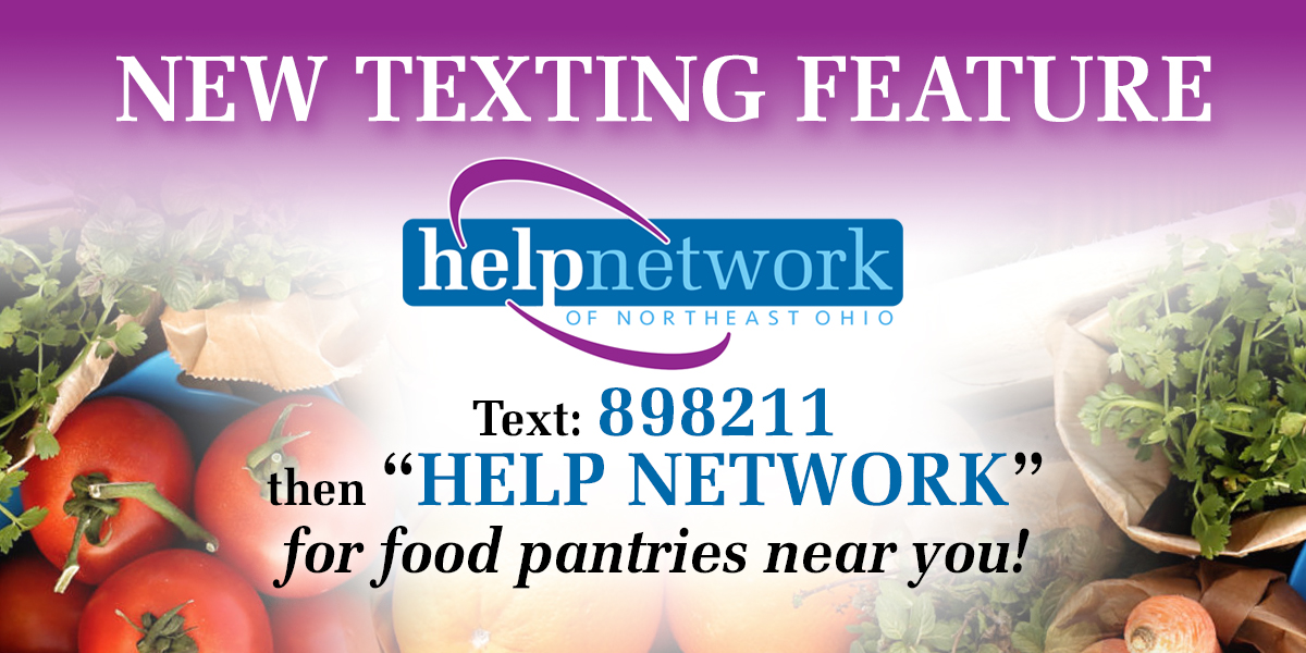 New Text Feature to Find Food Pantries